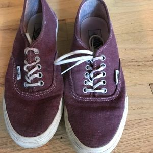 Purple Low-top Vans